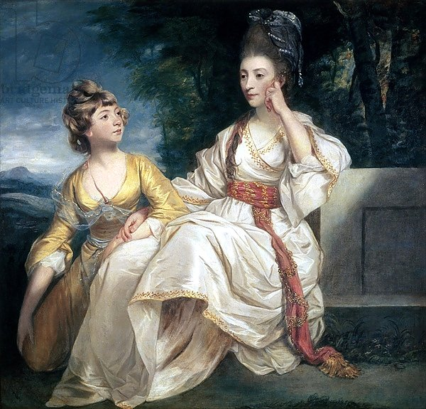Mrs Thrale and her Daughter Hester 1777-78