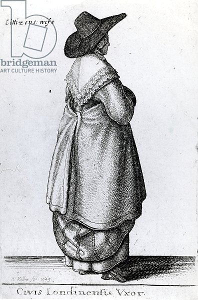 Wife of a Citizen of London, 1643