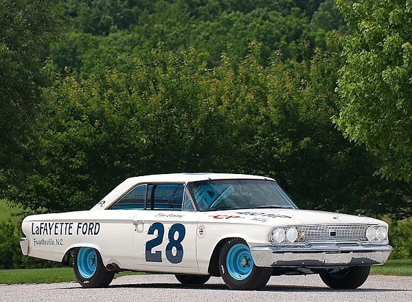 Ford Galaxie 500XL 427 Lightweight NASCAR Race Car '1963