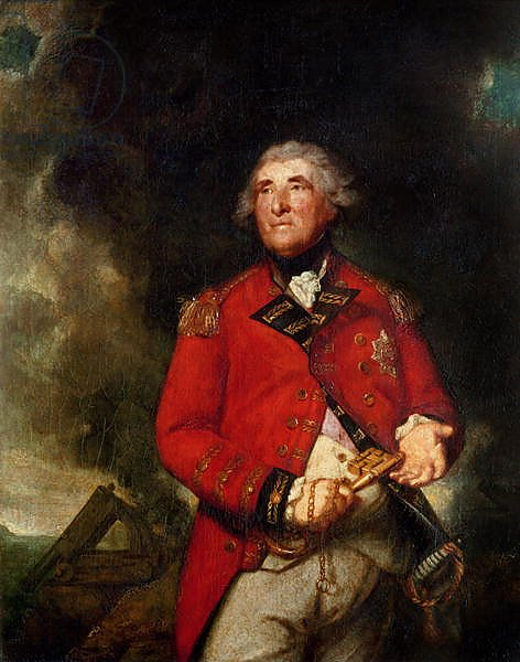 Lord Heathfield Governor of Gibraltar during the siege of 1779-83, 1787