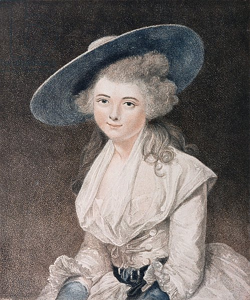 The Honourable Miss Binghamengraved by Francesco Bartolozzi published by E. M. Diemar, 1786