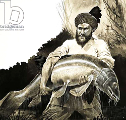 Постер Бэкхаус Д. (совр) Mohammed Khan discovers the body of a big fish in a pool