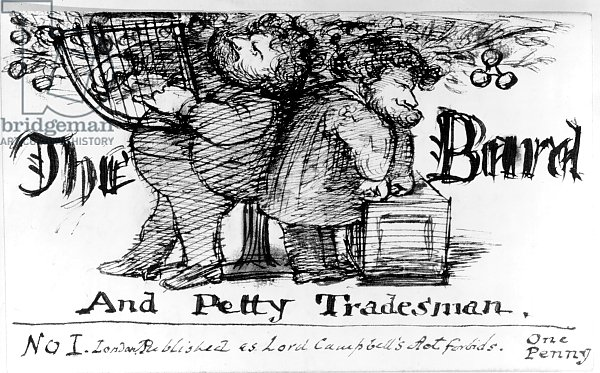 The Bard and Petty Tradesman, 1868