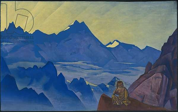 Milarepa, the One Who Harkened, 'Banners of the East' series, 1925
