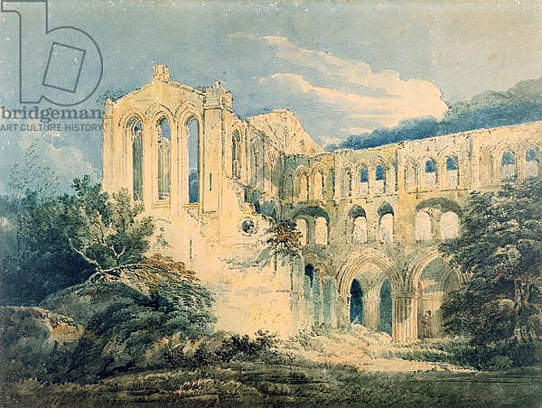 Rievaulx Abbey, Yorkshire, 1798