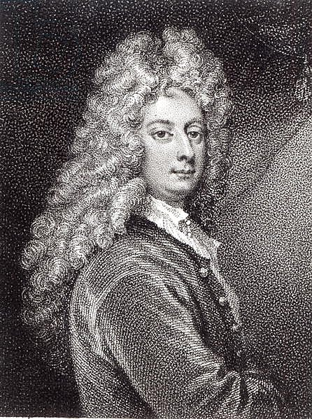 William Congreve engraved by P.W.Tomkins