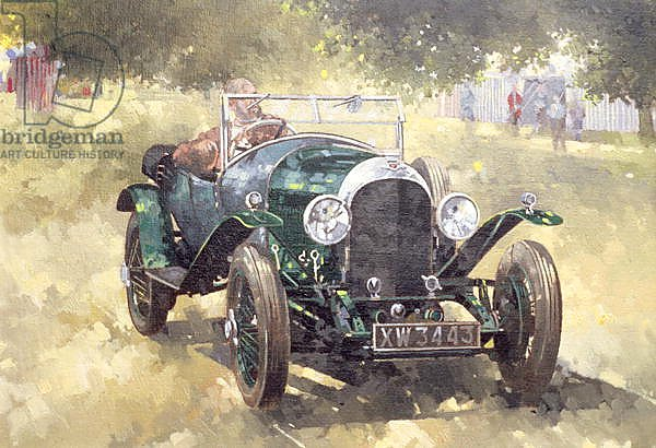 The Green Bentley at Althorp, 1994