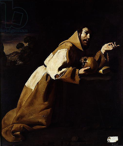St. Francis in Meditation, 1639