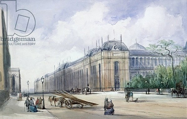 South-east Aspect of the 1862 Exhibition Building, looking along Cromwell Road