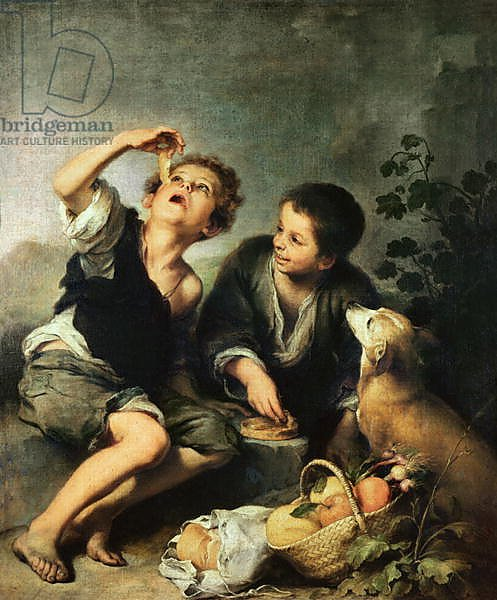 Children Eating a Pie, 1670-75