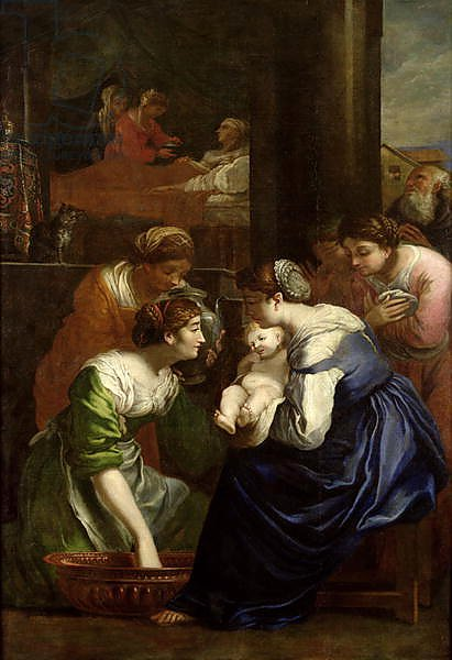 The Birth of the Virgin, c.1620