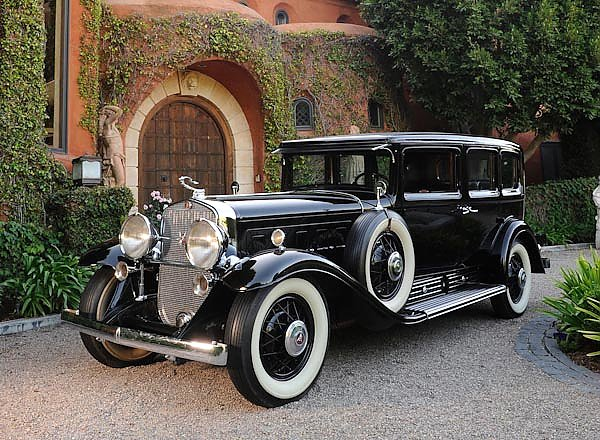 Cadillac V16 452 Armored Imperial Sedan by Fleetwood '1930