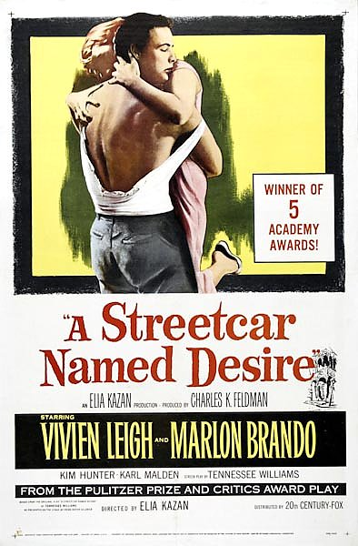 Poster - A Streetcar Named Desire 4