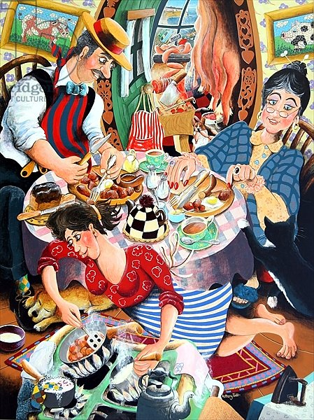 Mr. Beynon the butcher his wife Mrs Beynon and Lilly the treasure, 2005