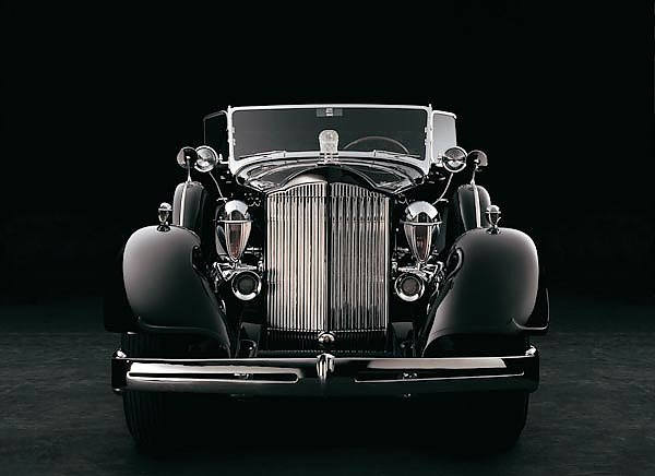 Packard Super Eight Cowl Phaeton '1934