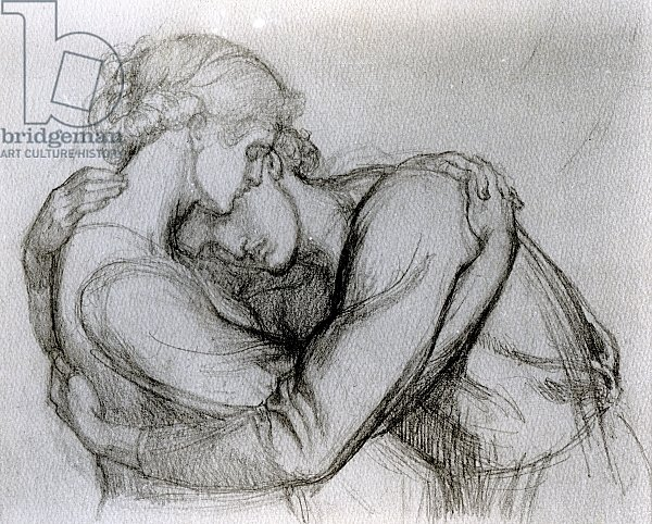 Study for 'The Blessed Damozel', c.1876