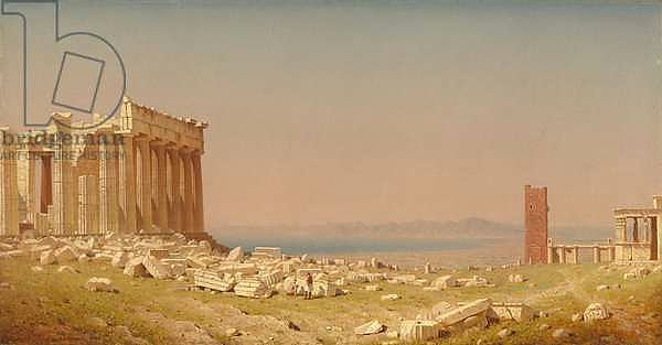Ruins of the Parthenon, 1880