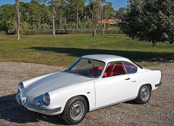 Abarth 850 Coupe by Allemano '1960