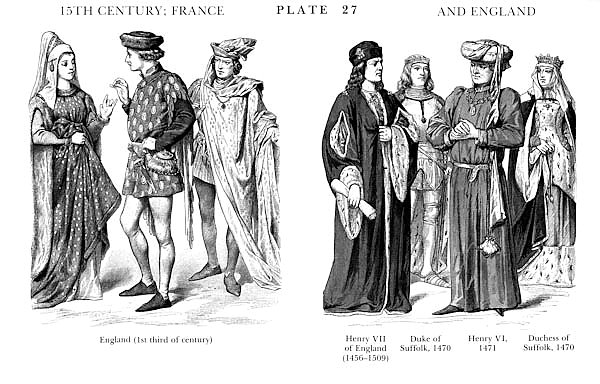 XVè Siècle, France et Angleterre, 15Th Century, France and England 2