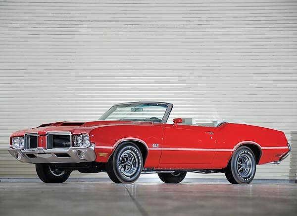 Oldsmobile 442 W-25 Convertible '1971