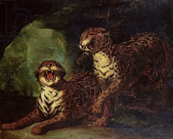 Two Leopards, c. 1820