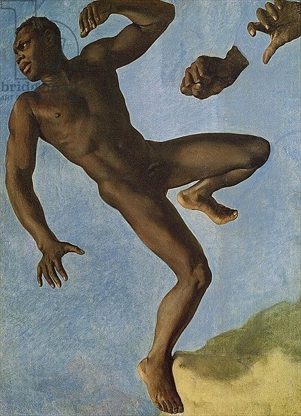 Study of a Nude Negro, 1838