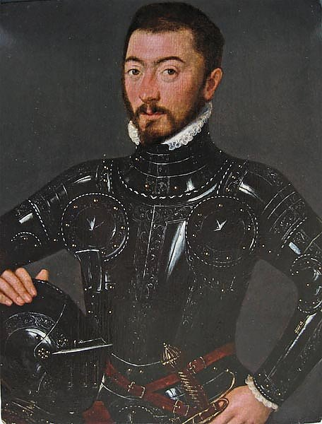 'An Unknown Nobleman in Armour'