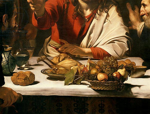 The Supper at Emmaus, 1601 5