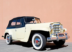 Постер Willys Jeepster '1948–50