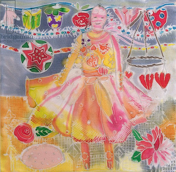 Fairy with Hearts and Flowers, 2006