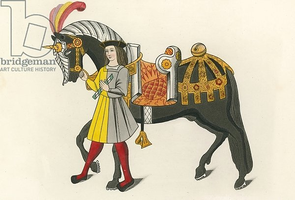Horse and Attendant, 1511