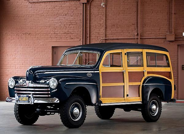 Ford Super Deluxe Station Wagon by Marmon-Herrington '1946