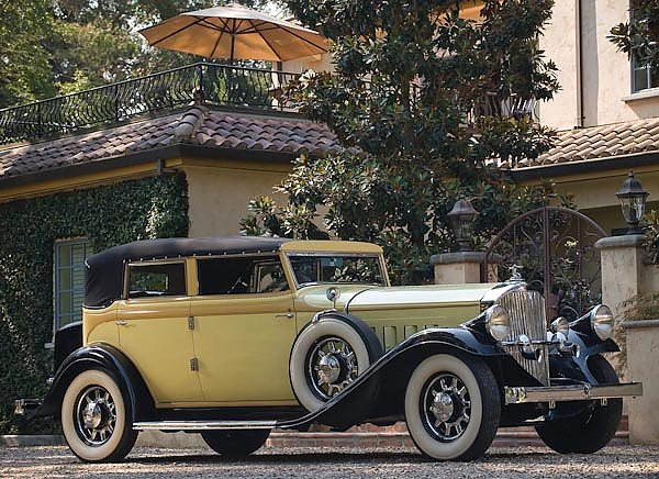 Pierce-Arrow Model 54 Convertible Sedan '1932