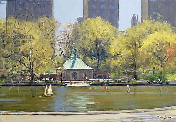 The Boating Lake, Central Park, New York, 1997