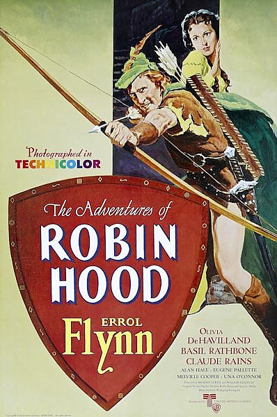Poster - Adventures Of Robin Hood