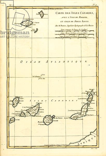 The Canary Islands, with Madeira and Porto Santo, 1780