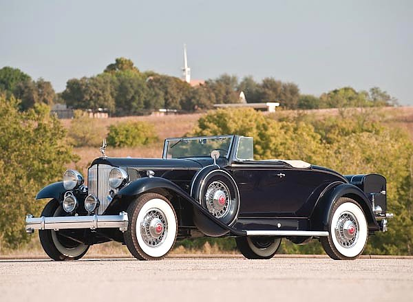 Packard Twin Six Coupe Roadster '1932