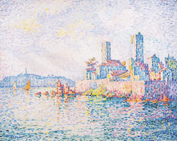 Постер Синьяк Поль (Paul Signac) Antibes