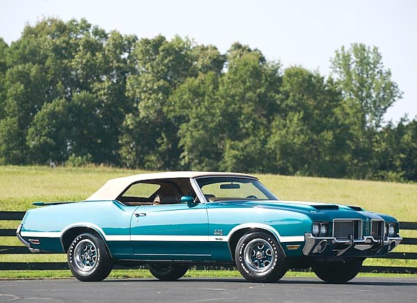 Oldsmobile 442 W-30 Convertible '1972