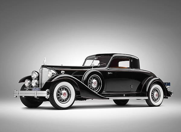 Packard Twelve Custom Coupe by Dietrich (1007) '1933