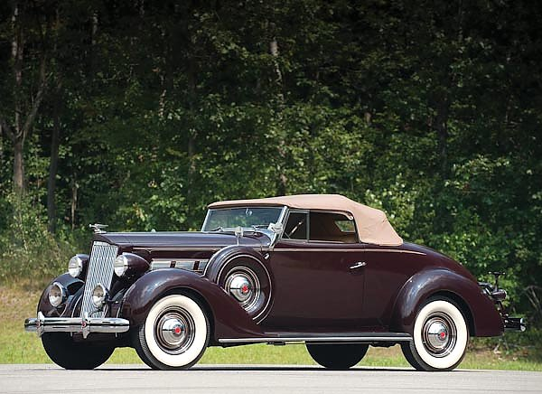 Packard 120 Convertible Coupe '1937
