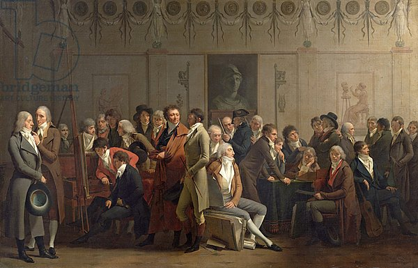 Reunion of Artists in the Studio of Isabey, 1798