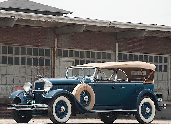 Lincoln Model L Dual Cown Phaeton '1931