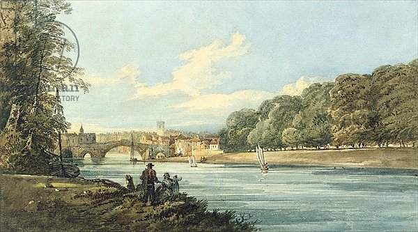 The New Walk, York, c.1798