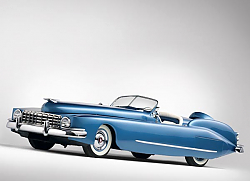 Постер Mercury Bob Hope Special Concept Car '1950