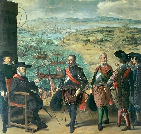 The Defence of Cadiz against the English, 1634