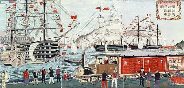 commodore perrys journey to japan