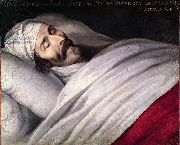 Cardinal Richelieu on his Deathbed
