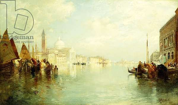 The Grand Canal, 1887