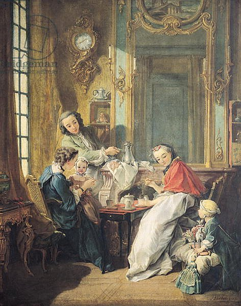 The Afternoon Meal, 1739